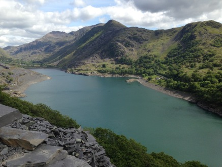 Dramatic Snowdonia from Llanberis