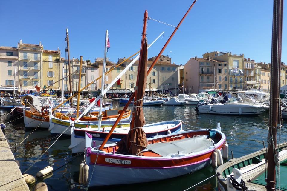 St.Tropez harbour