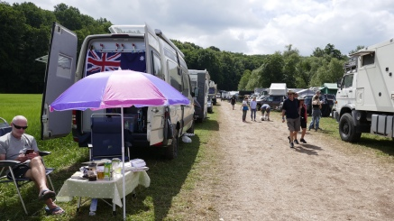 Parked up a Bad Kissingen at the biggest Overland Truck Show in the World