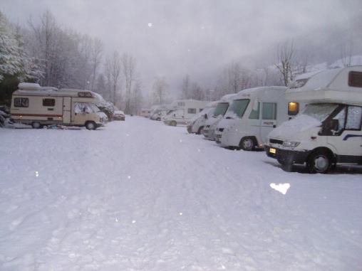 Ski Resorts in a Campervan